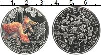 Продать Монеты Австрия 3 евро 2021 Медно-никель