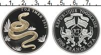 Продать Монеты Того 1000 франков 2013 Серебро