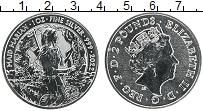 Продать Монеты Великобритания 2 фунта 2022 Серебро
