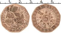 Продать Монеты Австрия 5 евро 2019 Медь