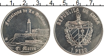 Продать Монеты Куба 1 песо 2007 Медно-никель