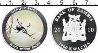 Продать Монеты Замбия 1000 квач 2010