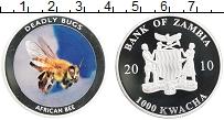 Продать Монеты Замбия 1000 квач 2010 Медно-никель