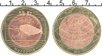 Продать Монеты Северный Полюс 50 крон 2012 Биметалл