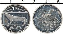Продать Монеты Северный Полюс 1 крона 2012 Медно-никель