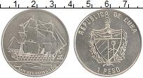 Продать Монеты Куба 1 песо 2008 Медно-никель