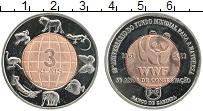 Продать Монеты Кабинда 3 реала 2011 Биметалл