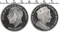 Продать Монеты Фолклендские острова 1 крона 2017 Медно-никель