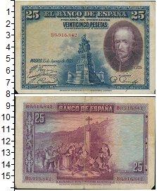 Изображение Банкноты Европа Испания 25 песет 1928  VF+