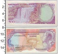 Изображение Банкноты Африка Сан-Томе и Принсипи 500 добрас 1989  UNC