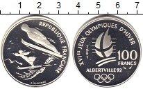 Изображение Монеты Европа Франция 100 франков 1991 Серебро Proof-