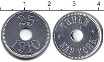 Изображение Монеты Гренландия 25 эре 1910 Алюминий UNC-