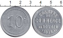 Изображение Монеты Африка Алжир 10 сантим 1915 Серебро UNC-