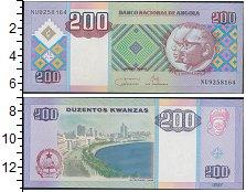 Изображение Банкноты Ангола 200 кванза 2011  UNC