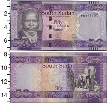 Изображение Банкноты Африка Судан 50 фунтов 0  UNC