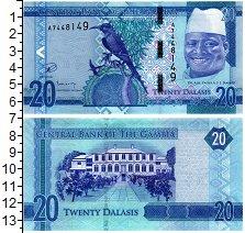 Изображение Банкноты Гамбия 20 даласи 0  UNC