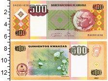 Изображение Банкноты Ангола 500 кванза 2011  UNC