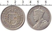 Изображение Монеты Австралия и Океания Новая Зеландия 1/2 кроны 1934 Серебро XF-
