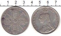 Изображение Монеты Великобритания 1 флорин 1889 Серебро XF