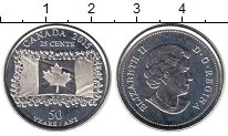 Изображение Мелочь Канада 25 центов 2015 Медно-никель UNC