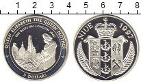 Изображение Монеты Новая Зеландия Ниуэ 5 долларов 1997 Серебро XF