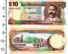 Изображение Банкноты Барбадос 10 долларов 2007  UNC