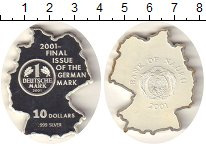 Изображение Монеты Австралия и Океания Науру 10 долларов 2001 Серебро Proof