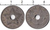 Изображение Монеты Бельгийское Конго 10 сантим 1910 Медно-никель XF