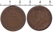 Изображение Монеты Северная Америка Канада 1 цент 1918 Медь VF
