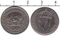 Изображение Монеты Западная Африка 50 центов 1949 Медно-никель XF