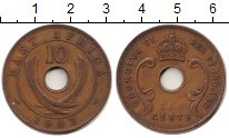Изображение Монеты Западная Африка 10 центов 1943 Бронза VF