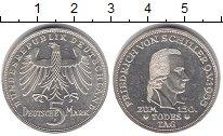 Изображение Монеты Германия ФРГ 5 марок 1955 Серебро UNC