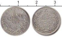 Изображение Монеты Африка Египет 1 кирш 1884 Серебро VF