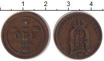 Изображение Монеты Швеция 2 эре 1898 Бронза XF-
