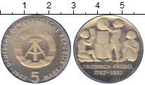Изображение Монеты ГДР 5 марок 1982 Медно-никель UNC 200 лет со дня рожде