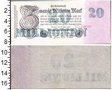 Изображение Банкноты Веймарская республика 20000000 марок 1923  XF выпуск 25 июля 1923