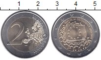 Изображение Мелочь Австрия 2 евро 2015 Биметалл UNC Флаг ЕС