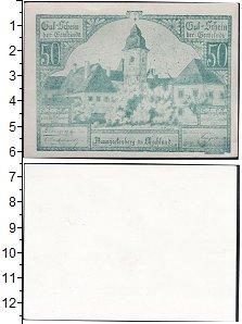 Изображение Банкноты Германия : Нотгельды 50 геллеров 0  XF