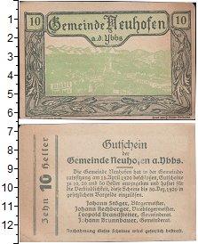 Изображение Банкноты Германия : Нотгельды 10 геллеров 1920  VF