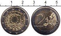 Изображение Мелочь Словакия 2 евро 2015 Биметалл UNC-