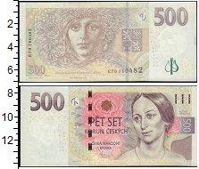 Изображение Банкноты Европа Чехия 500 крон 2009  UNC-