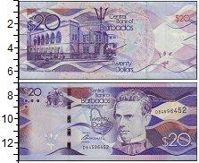 Изображение Банкноты Барбадос 20 долларов 2017  UNC