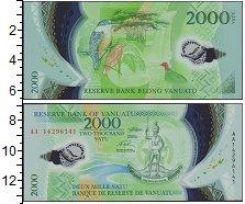 Изображение Банкноты Австралия и Океания Вануату 2000 вату 0 Пластик UNC
