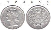 Изображение Монеты Португалия 50 сентаво 1914 Серебро XF