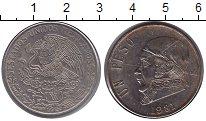 Изображение Монеты Северная Америка Мексика 1 песо 1981 Медно-никель XF