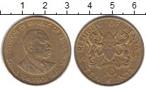 Изображение Монеты Кения 10 центов 1987 Медь XF Даниэль Мои.