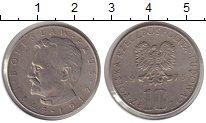 Изображение Мелочь Европа Польша 10 злотых 1975 Медно-никель VF