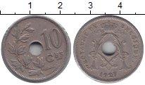 Изображение Монеты Бельгия 10 сентим 1927 Медно-никель VF