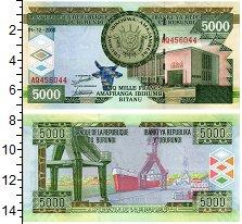Изображение Банкноты Бурунди 5000 франков 2008  UNC