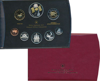 Изображение Подарочные монеты Канада Набор 2005 года 2005  Proof